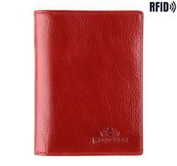 Etui na dokumenty, czerwony, 21-2-174-L3, Zdjęcie 1