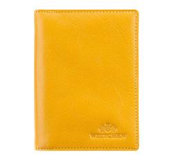 Etui na dokumenty, żółty, 21-2-163-Y, Zdjęcie 1