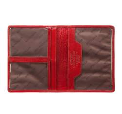 Etui na dokumenty, czerwony, 04-2-163-3, Zdjęcie 1