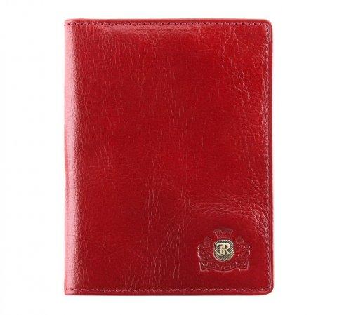 Etui na dokumenty, czerwony, 22-2-174-3, Zdjęcie 1