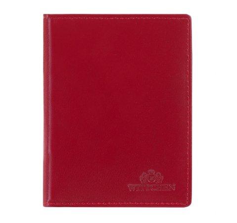 Etui na dokumenty, czerwony, 14-2-163-91, Zdjęcie 1