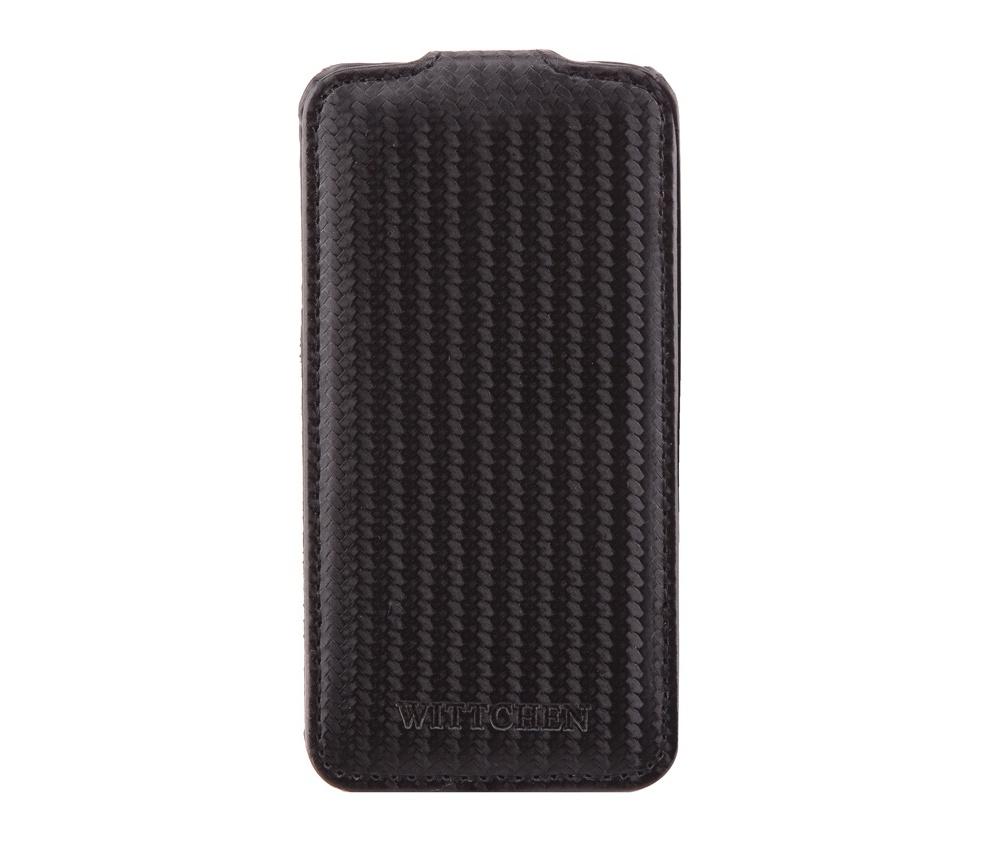 Чехол для iPhone 4Чехол для мобильного телефона из коллекции Office, отличительной чертой модели является высокое качество материалов используемых при производстве и стильный дизайн. Основной целью коллекции является удовлетворение потребностей nотребителей, идущих в ногу со временем. Чехол сохранить Ваш телефон от повреждений и царапин.<br><br>секс: унисекс<br>Цвет: черный<br>материал:: экокожа<br>высота (см):: 12<br>ширина (см):: 6<br>глубина (см):: 1.8
