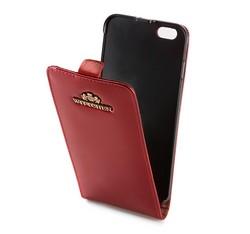 Etui na iPhone 6 Plus ze skóry lakierowanej, czerwony, 25-2-502-3, Zdjęcie 1