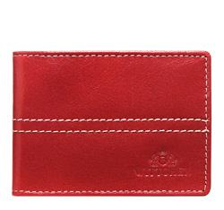 Etui na karty kredytowe, czerwony, 14-2-118-3, Zdjęcie 1