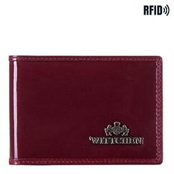 Etui na karty kredytowe, bordowy, 14-2L-118-3, Zdjęcie 1