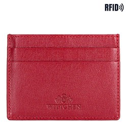 Credit card case, red, 14-2S-003-3, Photo 1
