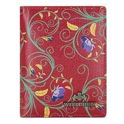 Etui na karty kredytowe, czerwono - zielony, 14-2S-163-3X, Zdjęcie 1