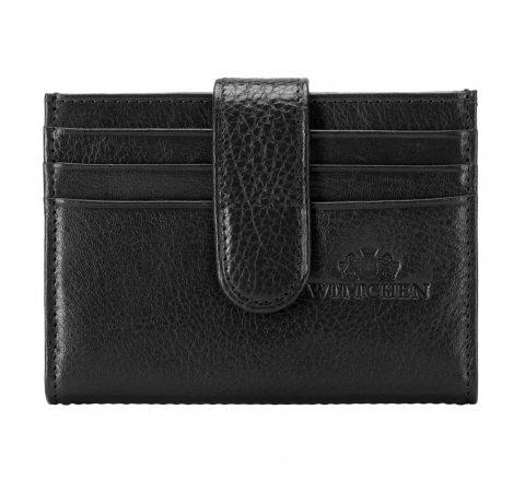 Etui na karty kredytowe, czarny, 21-2-027-L1, Zdjęcie 1