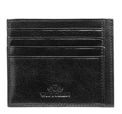 Etui na karty kredytowe, czarny, 21-2-030-1, Zdjęcie 1