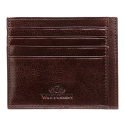Etui na karty kredytowe, brązowy, 21-2-030-44, Zdjęcie 1