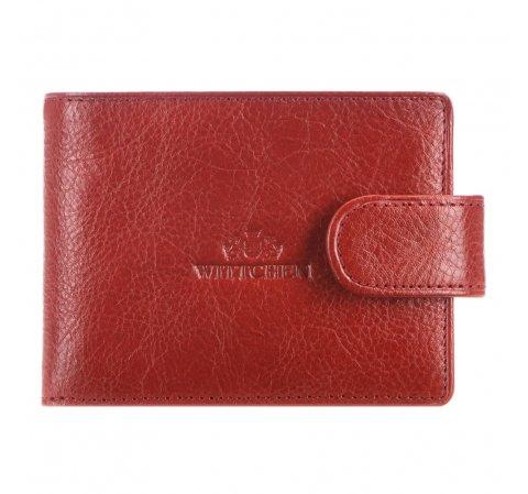 Etui na karty kredytowe, czerwony, 21-2-031-3, Zdjęcie 1