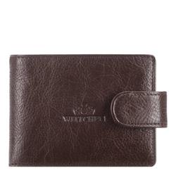 Etui na karty kredytowe, brązowy, 21-2-031-4, Zdjęcie 1