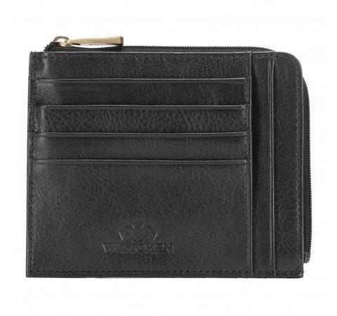 Etui na karty kredytowe, czarny, 21-2-037-1, Zdjęcie 1