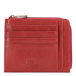 Etui na karty kredytowe, czerwony, 21-2-037-3, Zdjęcie 1