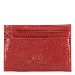 Etui na karty kredytowe, czerwony, 21-2-038-3, Zdjęcie 1