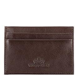 Etui na karty kredytowe, Brązowy, 21-2-038-4, Zdjęcie 1