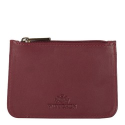 Credit card case, burgundy-navy blue, 89-2-001-27, Photo 1