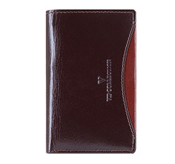 Etui na karty kredytowe, ciemny brąz, V06-02-133-45, Zdjęcie 1