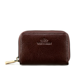 Credit card case, dark brown, 21-2-218-44, Photo 1