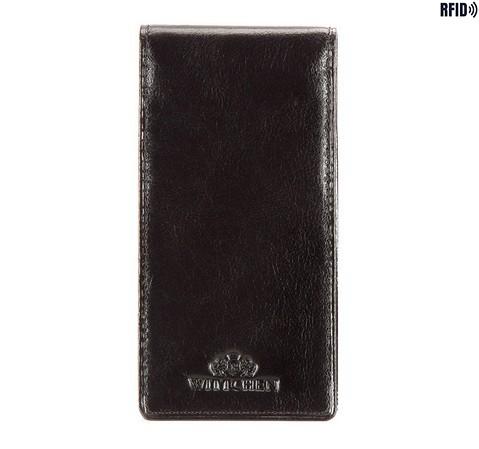 Etui na karty kredytowe, czarny, 21-2-170-L1, Zdjęcie 1
