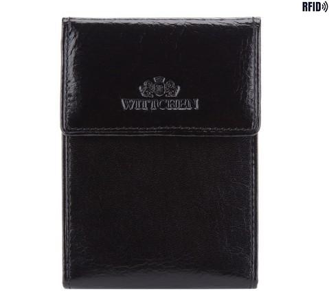 Etui na karty kredytowe, czarny, 21-2-011-L1, Zdjęcie 1