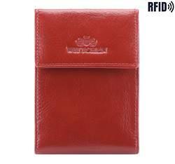 Etui na karty kredytowe, czerwony, 21-2-011-L3, Zdjęcie 1
