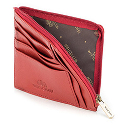 Credit card case, red, 21-2-037-3, Photo 1