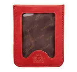 Etui na karty kredytowe, czerwony, 21-2-259-3, Zdjęcie 1