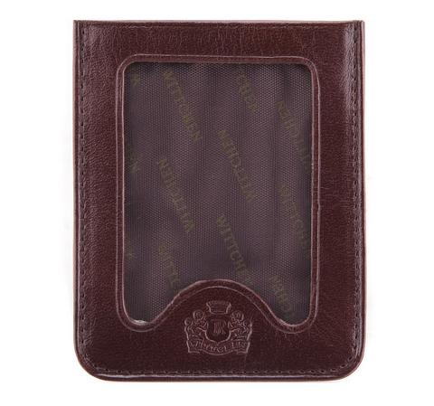Etui na karty kredytowe, brązowy, 21-2-259-4, Zdjęcie 1