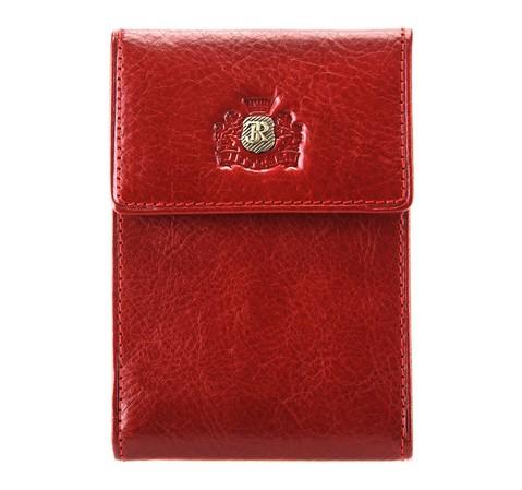 Etui na karty kredytowe, czerwony, 22-2-011-3, Zdjęcie 1
