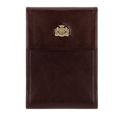 Etui na karty kredytowe, brązowy, 10-2-011-4, Zdjęcie 1