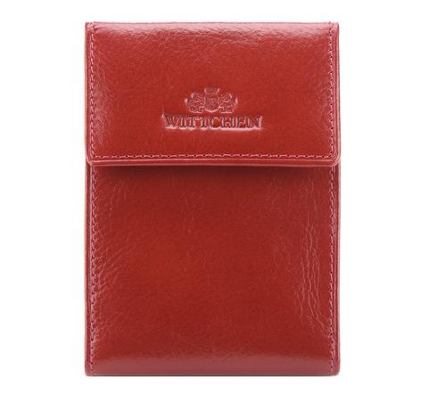Etui na karty kredytowe, czerwony, 21-2-011-3, Zdjęcie 1