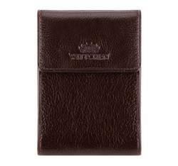 Etui na karty kredytowe, brązowy, 21-2-011-4, Zdjęcie 1