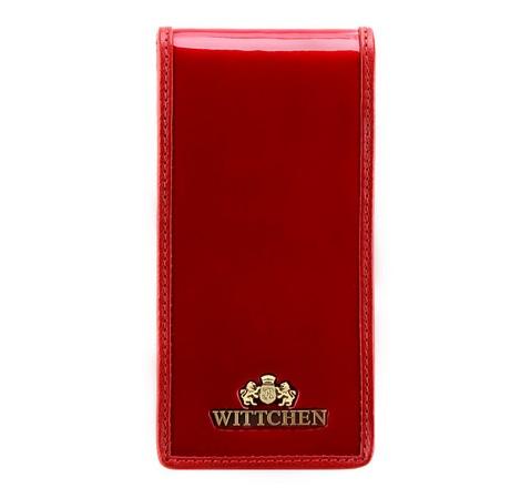 Etui na karty kredytowe, czerwony, 25-2-170-3, Zdjęcie 1