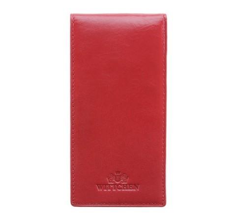 Etui na karty kredytowe, czerwony, 14-2-170-3, Zdjęcie 1