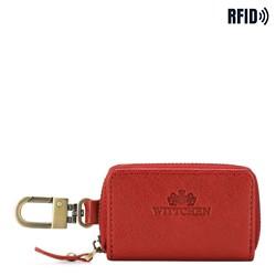 Etui na klucze, czerwony, 21-2-500-L3, Zdjęcie 1