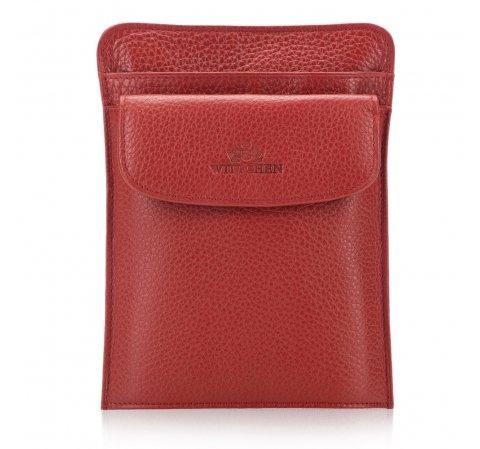 Etui na paszport, czerwony, 17-5-127-3, Zdjęcie 1