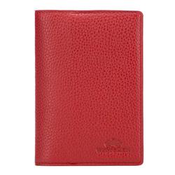 Etui na paszport, czerwony, 17-5-128-3, Zdjęcie 1