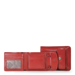 Passport cover, red, 10-5-127-3, Photo 1