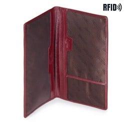 Passport cover, burgundy, 14-2L-200-3, Photo 1