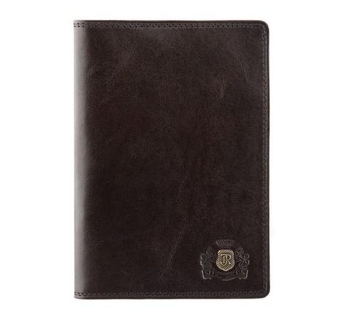Etui na paszport, brązowy, 39-5-128-3, Zdjęcie 1