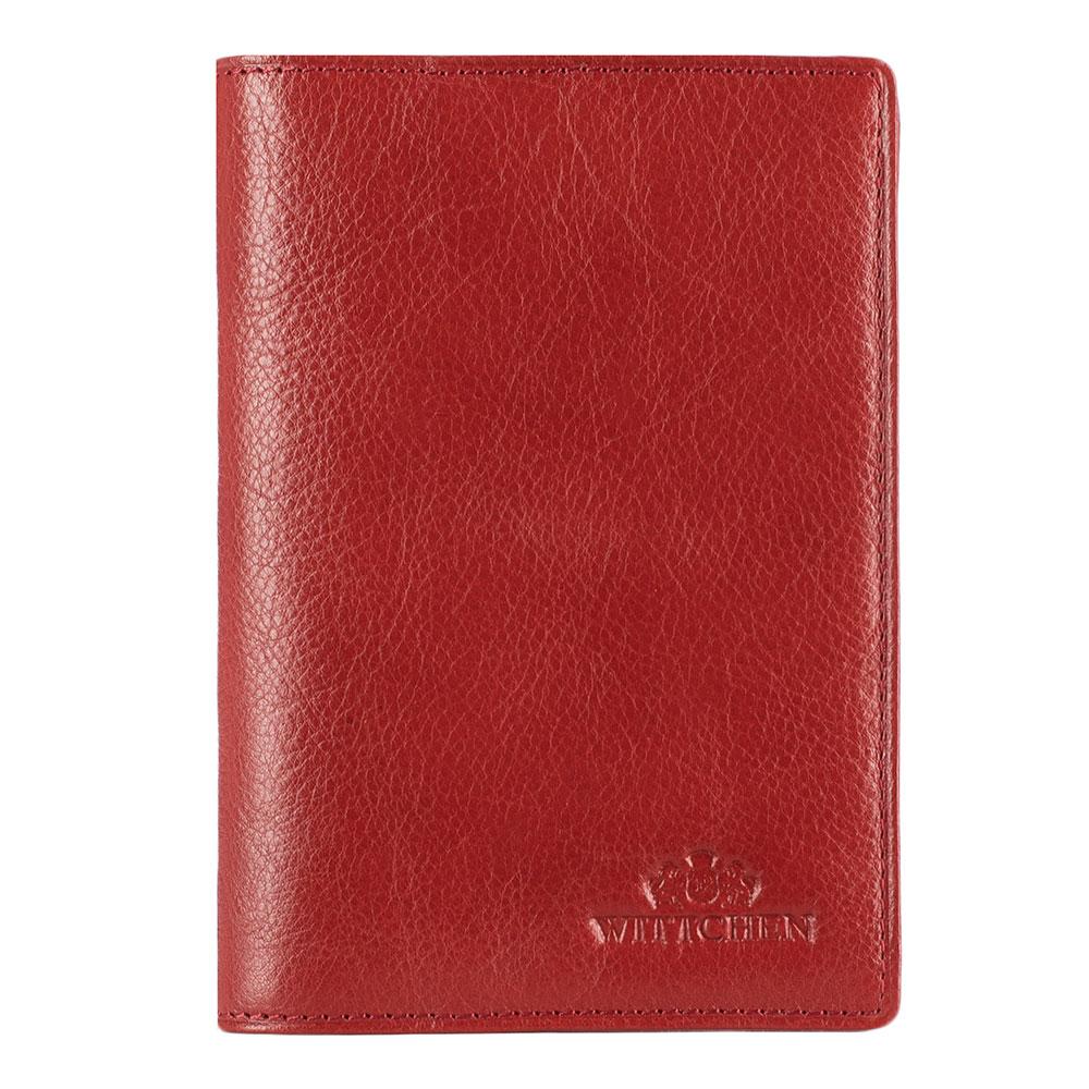Обложка для паспортаОбложка для паспорта из коллекции Italy. Сделана мягкой телячьей кожи.Логотип- герб WITTCHEN тисненый на коже.Особенность модели: 2 отделения для документов.<br><br>секс: женщина<br>материал:: натуральная кожа<br>высота (см):: 13.5<br>ширина (см):: 9.5