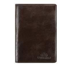 Etui na paszport, brązowy, 21-5-128-4, Zdjęcie 1