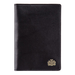 Etui na paszport, czarny, 10-5-128-1, Zdjęcie 1
