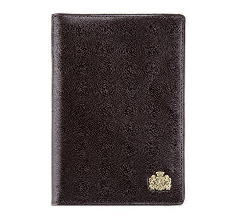 Etui na paszport, Brązowy, 10-5-128-4, Zdjęcie 1