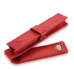 Fountain pen case, red, 10-2-084-3, Photo 1