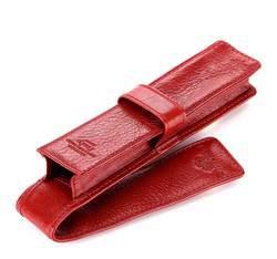Fountain pen case, red, 21-2-084-3, Photo 1