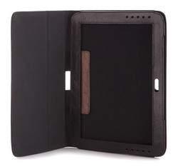 Etui na tablet skórzane na magnes, czarny, 10-2-514-1, Zdjęcie 1
