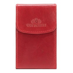 Wizytownik skórzany klasyczny, czerwony, 14-2-151-9, Zdjęcie 1