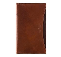 Business card holder, brown, V05-02-084-40, Photo 1